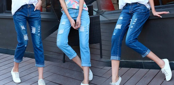 efb542232cb Скидка 50% На женские джинсы boyfriend. Есть большие размеры!