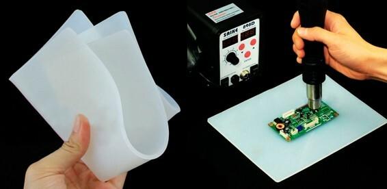 60be746210cb Скидка 66% На силиконовый термостойкий защитный коврик. Для пайки и иных  работ с высокой температурой!