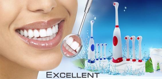 Электрические зубные щетки с пульсирующими