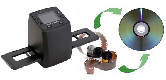 Оцифровка фотопленки в домашних условиях сканером