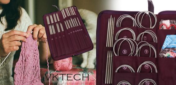 универсальный профессиональный набор спиц для любого вида вязания