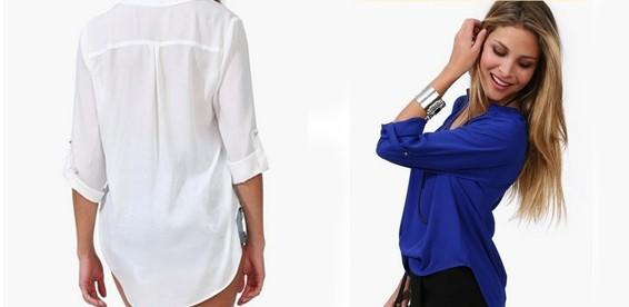 Пошив Блузки Рубашечного Кроя