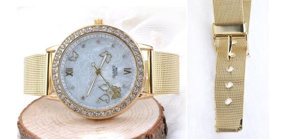 Позолоченные наручные часы купить в интернет-магазине