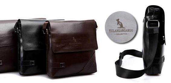 38943355bf1a Скидка 59% На мужские кожаные сумки-портфели «Kangaroo». Привыкай к лучшему!