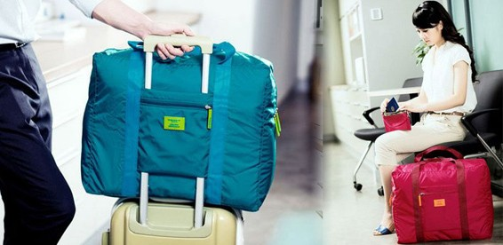 dcbe1438c77a Скидка 61% На дорожную сумку с креплением на ручку чемодана.  Путешественникам понравится!