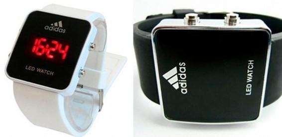 Светодиодные часы наручные - купить Лед Led часы