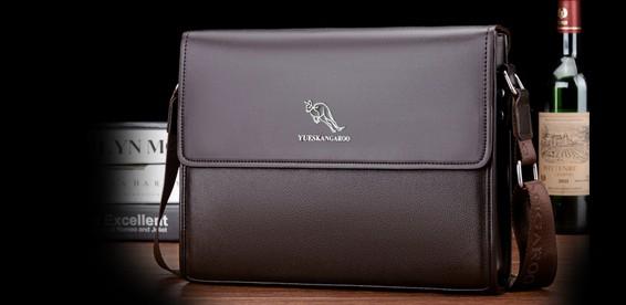 e99bc93896b7 Скидка 54% На мужскую кожаную сумку Yueskangaro. Отличное качество! Акция  завершилась: 26.02.2018
