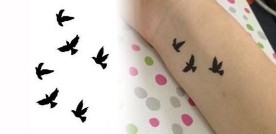 Татуировки на кисти и пальцах