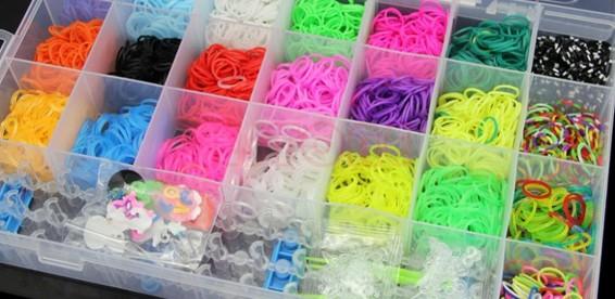 Дешевый набор резинок для браслетов