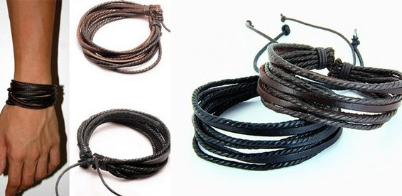 Кожаный браслет питер