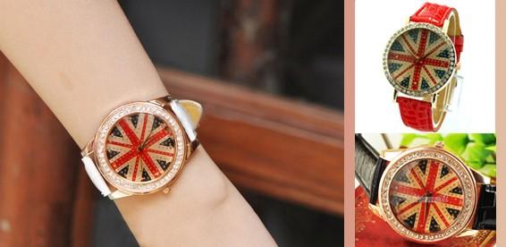Описание: Как видно на фото часов наручных женских-2015, цветные циферблаты модных часиков выглядят очень благородно
