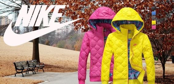b8f8800a Скидка 59% На женские спортивные куртки Nike c капюшоном. Яркие краски  активной жизни!