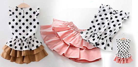 Комплект юбка топик
