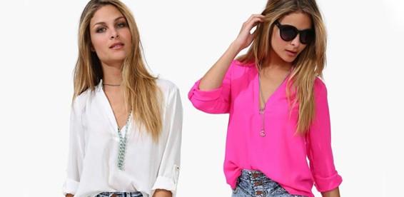 Блузка Рубашечного Покроя В Спб