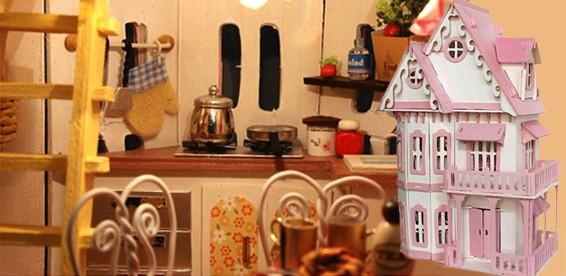 Подсветка в кукольный домик своими руками 67