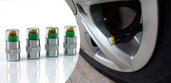 Колпачки-индикаторы давления в шинах