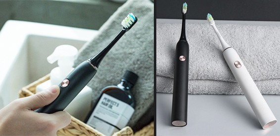 Ирригатор электрическая зубная щетка браун