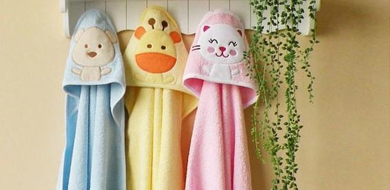 Как сшить полотенце с капюшоном для детей