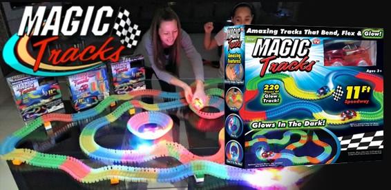 579c4470d58b7 Скидка 50% На волшебный трек/трасса конструктор Magic Tracks 220 деталей.  Принимает любую форму!