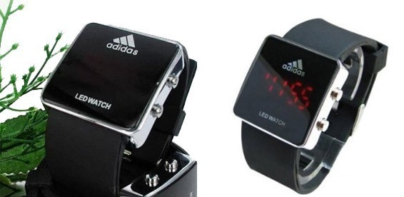 2c54b875 Скидка 50% На светодиодные часы Adidas Led Watch для мужчин и женщин.  Спортивный и оригинальный дизайн!