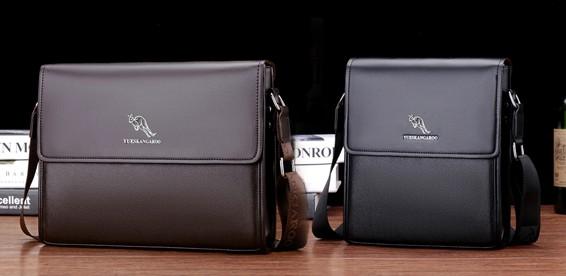 e7e73132155b Скидка 54% На мужскую кожаную сумку Yueskangaro. Отличное качество!