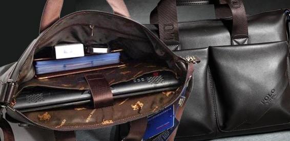 0b94b462da31 Скидка 62% На кожаный мужской портфель Videng Polo PU. Атрибут современного  делового человека! Акция завершилась: 21.01.2014
