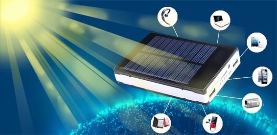 Powerbank на солнечных батареях