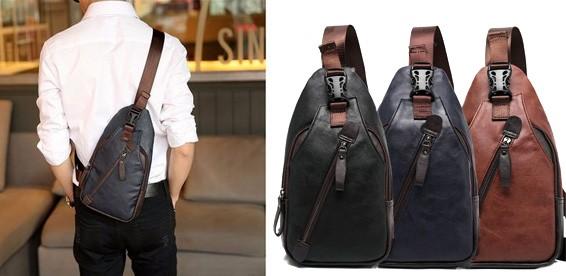 Рюкзак слинг мужской