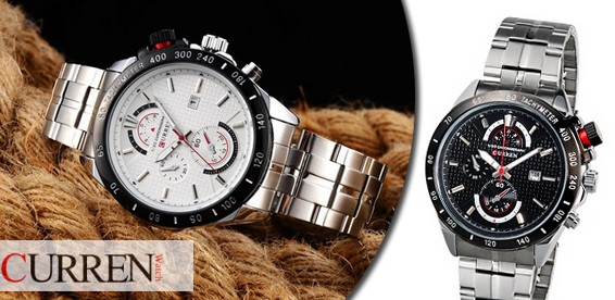 Часы с железным браслетом фото