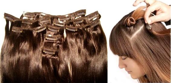 Волосы на заколках купить спб недорого