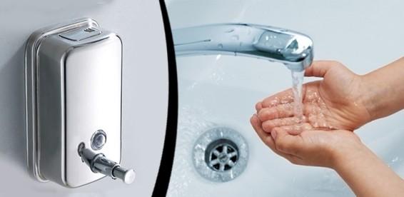 Картинки по запросу дозатор настенный металлический для жидкого мыла