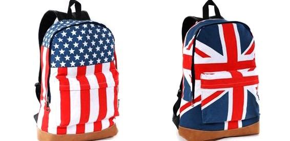 Рюкзаки с американским флагом фото школьные рюкзаки купить в интернете
