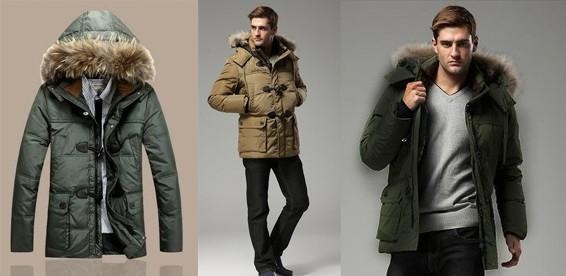 e24485687b87a Скидка 58% На мужской пуховик-пальто «Winterwear» удлинённого покроя. Из  пуха белой утки!