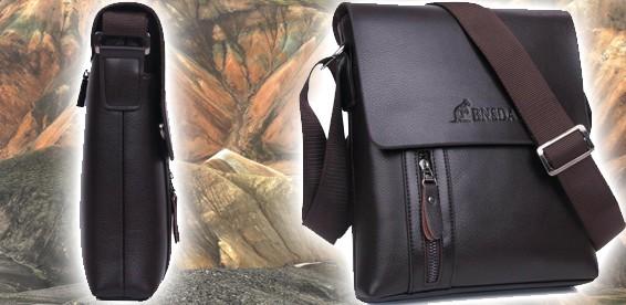 e96f8ff41a60 Скидка 58% На стильную мужскую сумку через плечо. Деловой человек оценит!