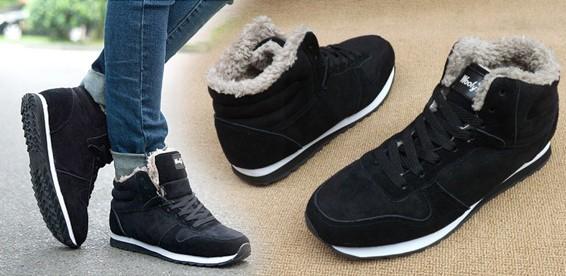 Скидка 51% На высокие зимние кроссовки (унисекс). Отличный выбор для тепла  и комфорта! 20a8019d8ce