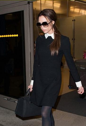 Черное Платье С Белым Воротником Купить Москва
