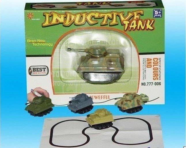 Поставьте танк в начале линии.