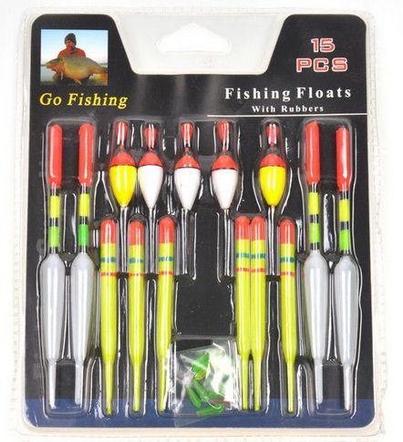 набор рыбака с поплавком