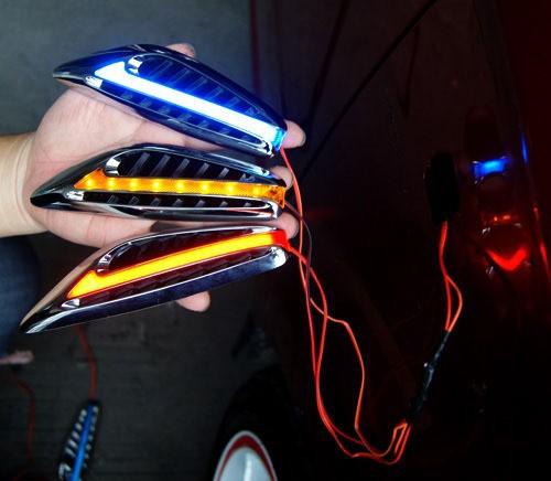 Светящиеся поворотники своими руками
