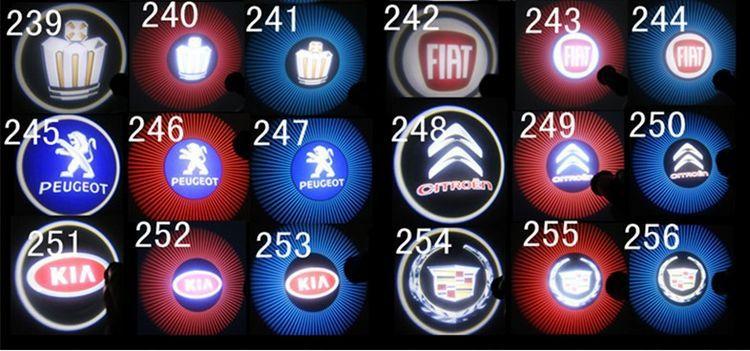 На набор проектор логотипа автомобиля