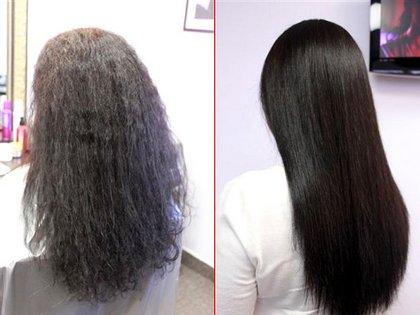 Ollin кератиновое выпрямление волос