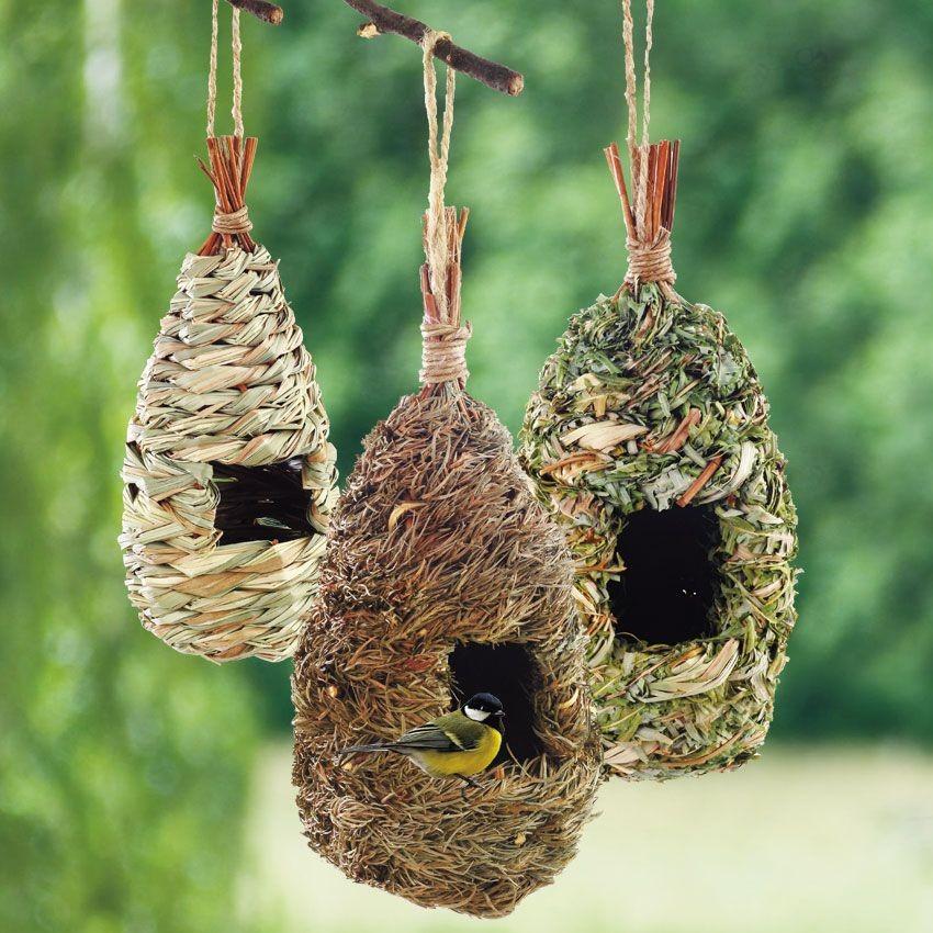 Как сделать гнездо птицы своими руками 70