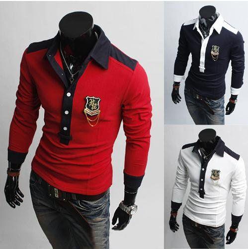 Модные рубашки поло мужские