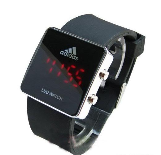 Купить в москве светодиодные часы наручные