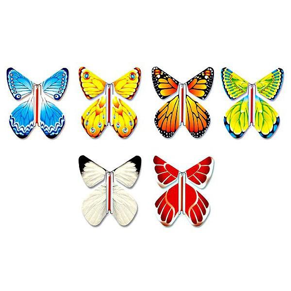 Летящие бабочки своими руками