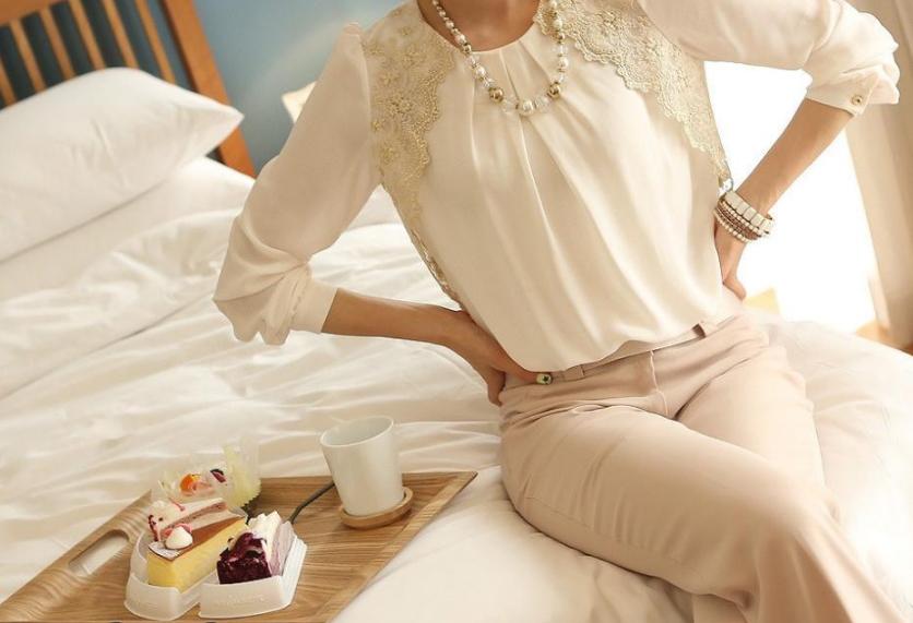 Сшить блузку с длинным рукавом