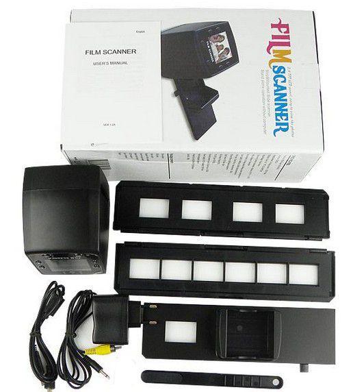 Сканер для оцифровки фотопленки и слайдов в домашних условиях 11