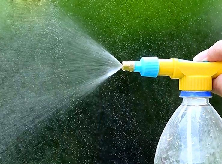 Как сделать распылитель для воды