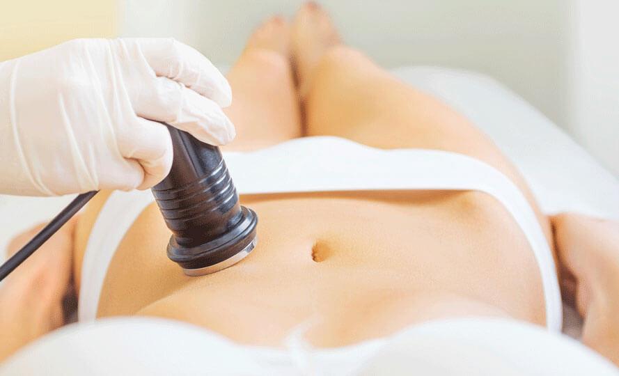 прессотерапия на живот и ноги