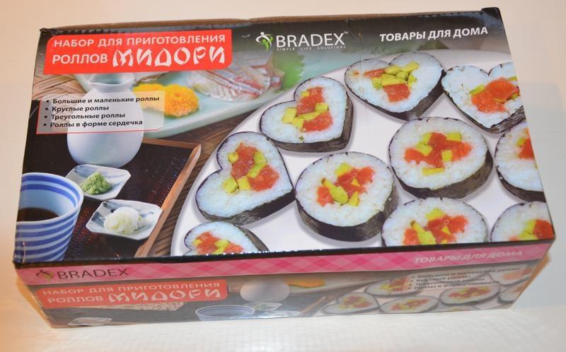 """набор для приготовления роллов Bradex """"Мидори"""": купить в Москве и Санкт-Петербурге, цена, условия доставки, отзывы. Продажа недо"""